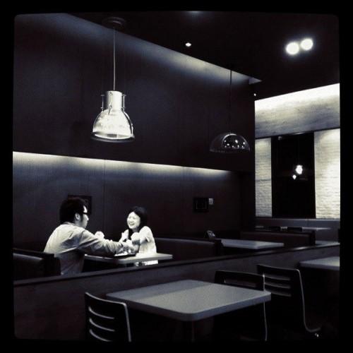 Dating bei Burger King.